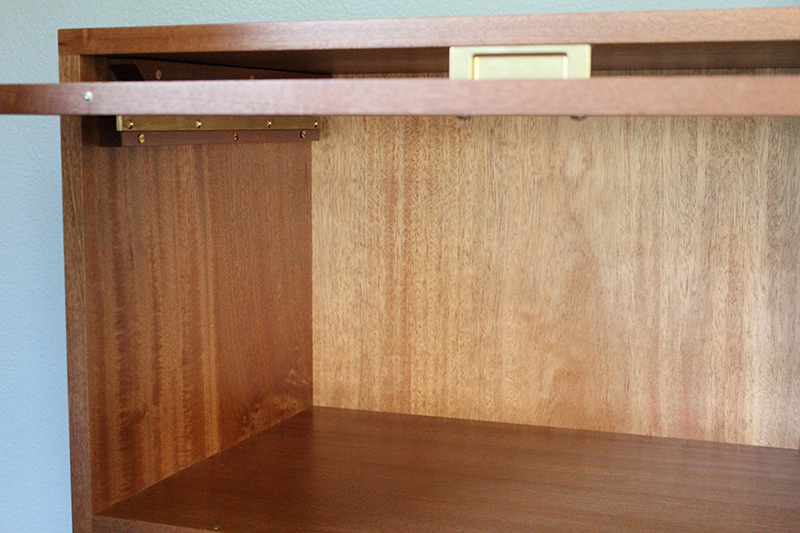Below With The Door In Place Source Syd Fine Furniture Design Barrister Inspired File Cabinet