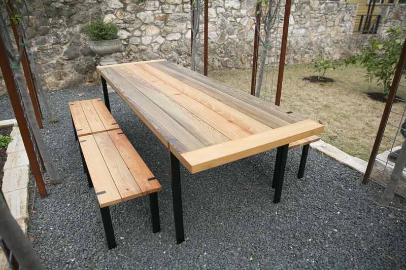 Outdoor Tables + Benches