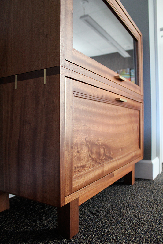 Barrister inspired File Cabinet