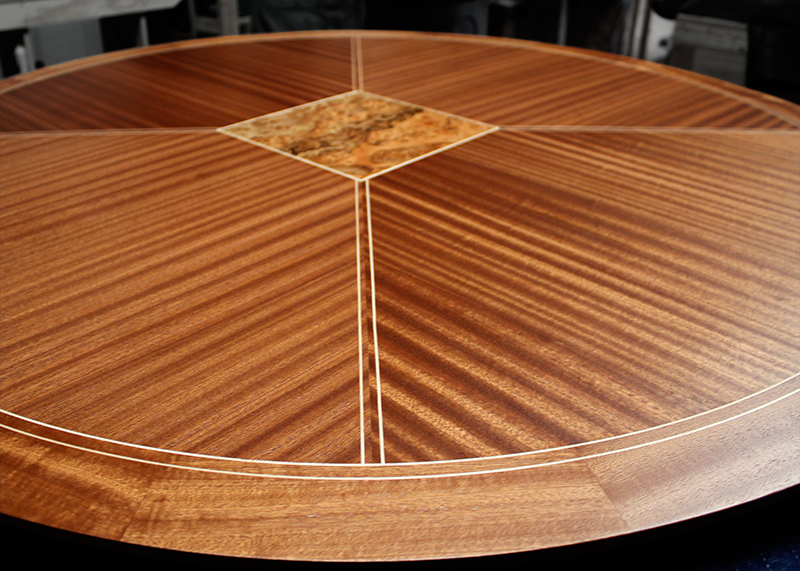 Sapele Round Table